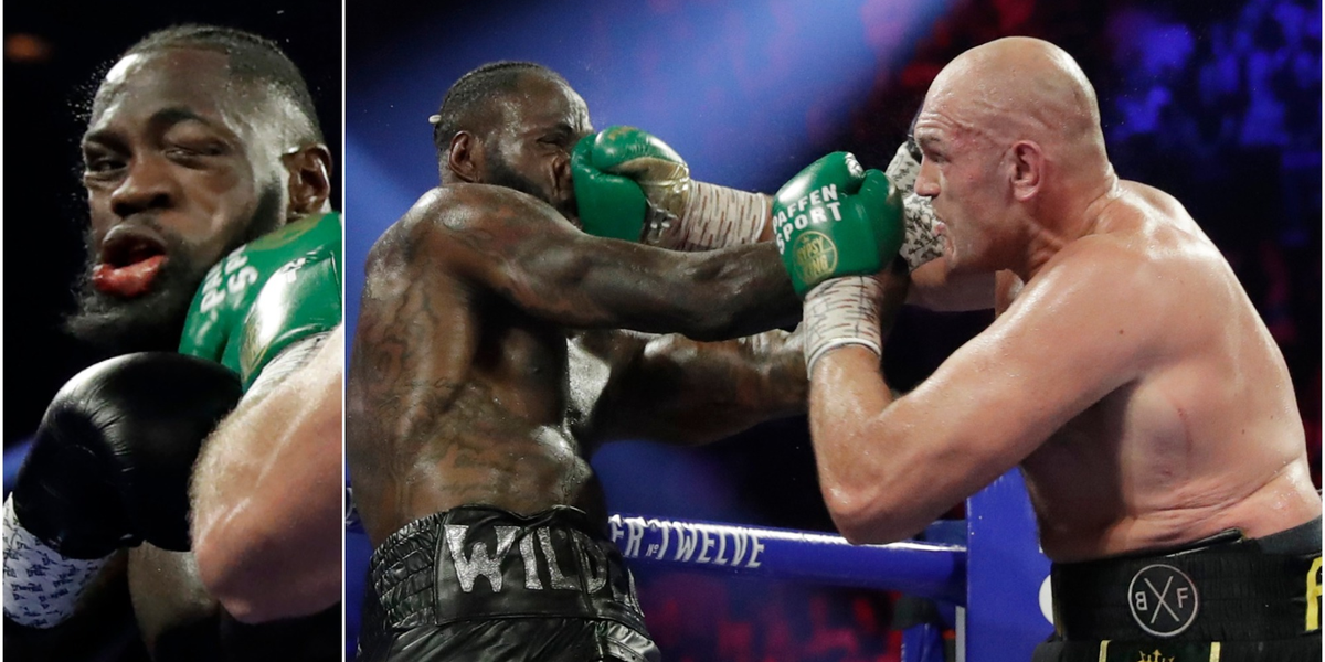 VIDEO: 6 second clip lays bare brutality of heavyweight boxing - Business Insider - Business Insider