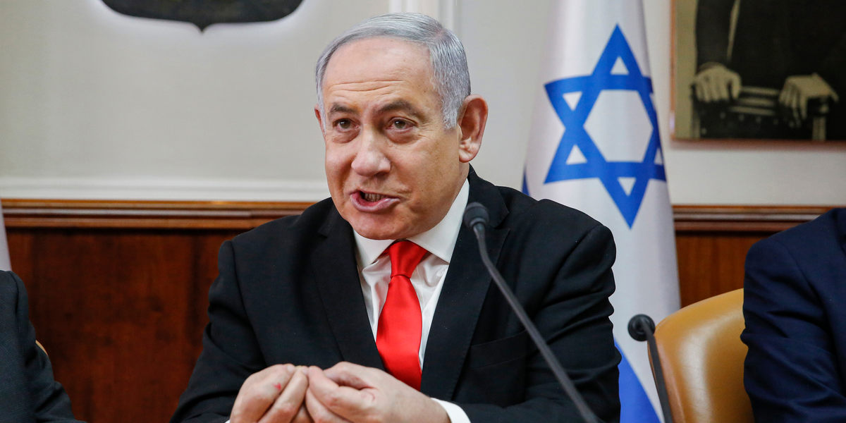 Netanyahu shared fake TV clip, claimed Iran is hiding COVID-19 deaths: Axios - Business Insider - Business Insider