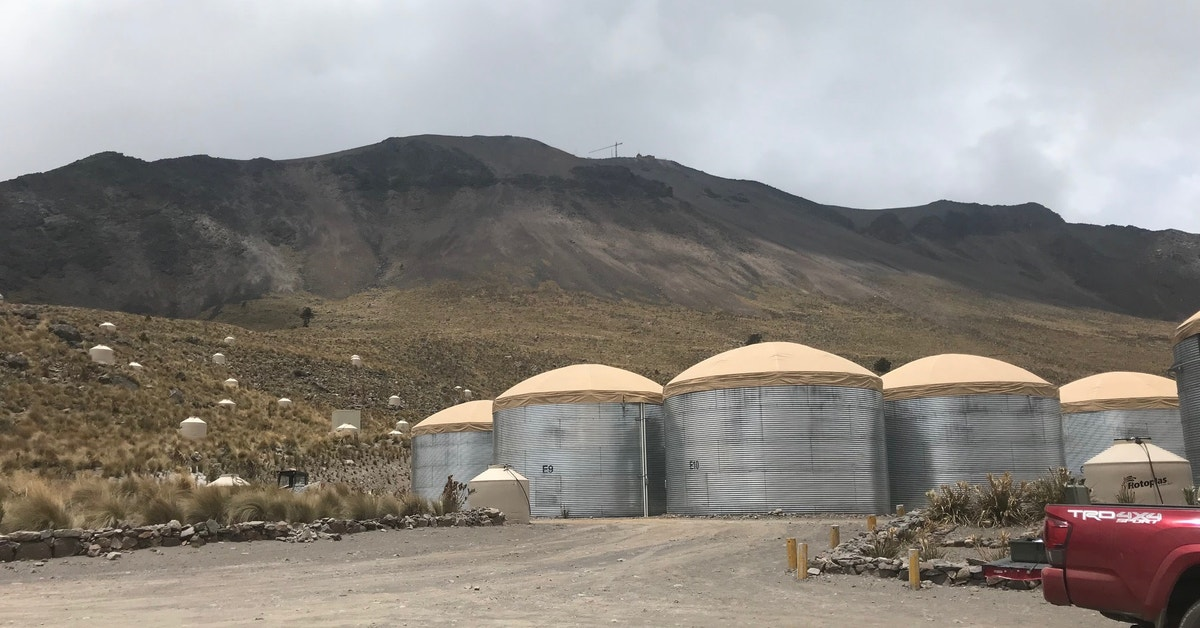 Extreme Experiment On Mexican Volcano Challenged The Speed Of Light - Gizmodo Australia