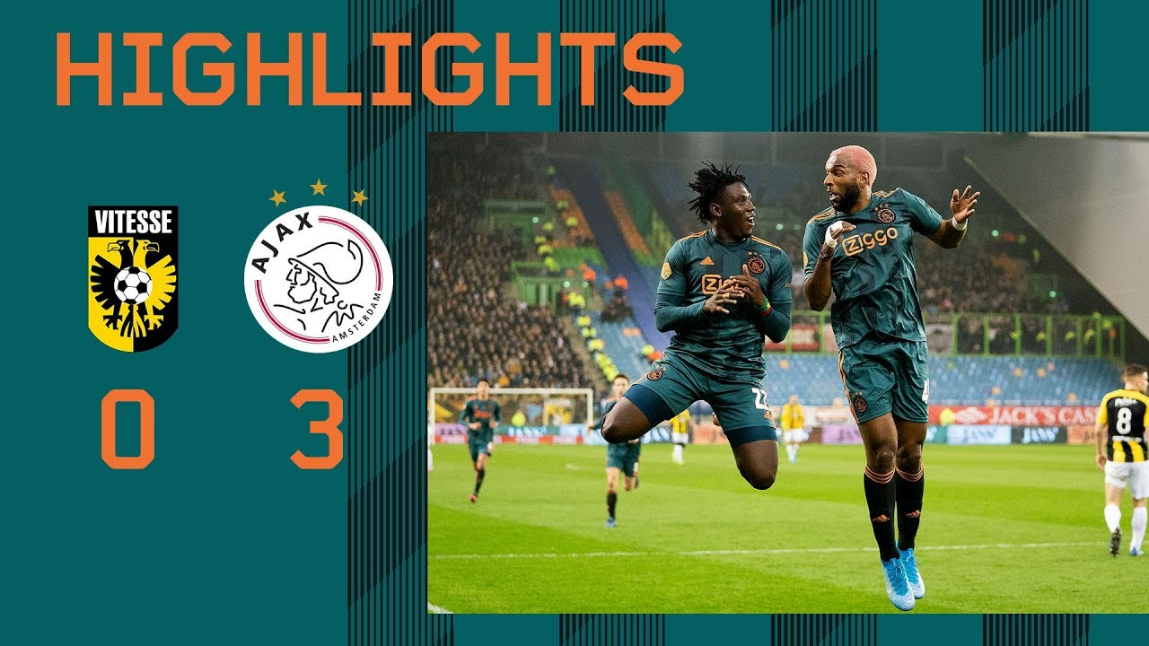 Highlights Vitesse - Ajax | KNVB Beker - AFC Ajax