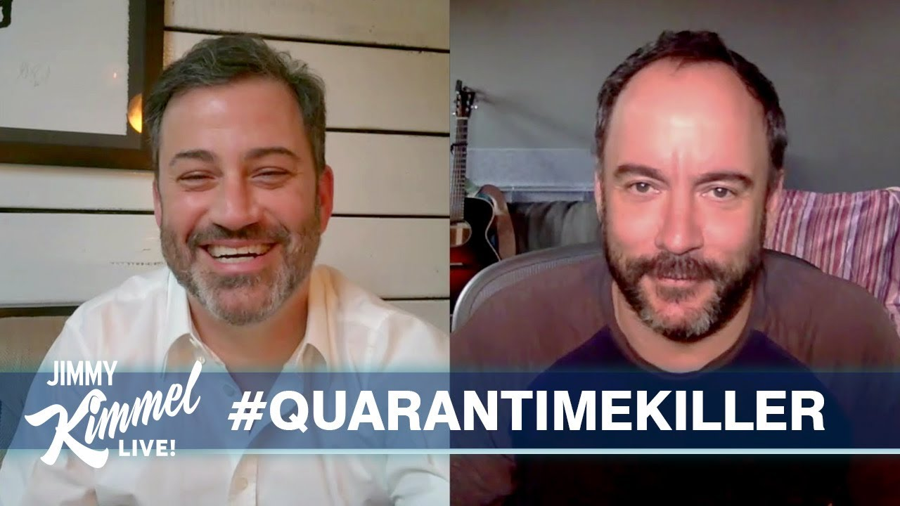 Jimmy Kimmel's Quarantine Minilogue – Trump Defies Experts, Quarantime Killers & Dave Matthews - Jimmy Kimmel Live