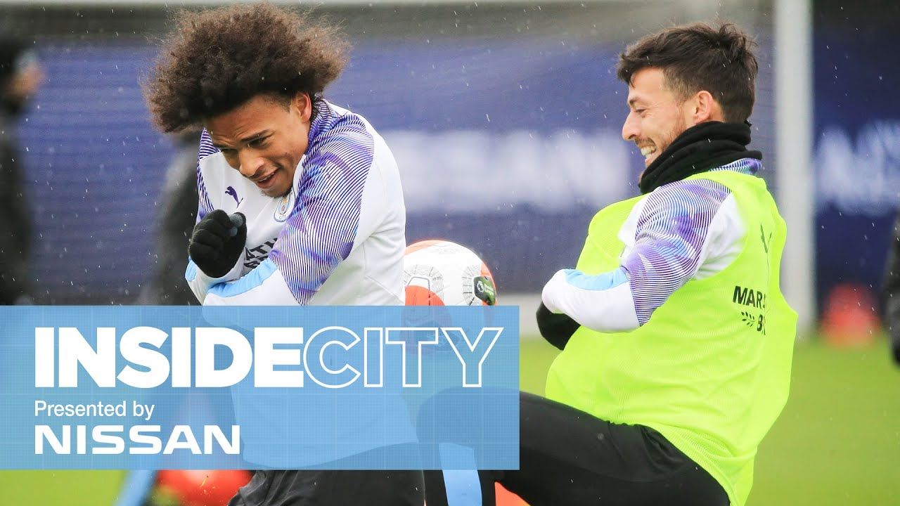 INSIDE CITY 375 | FINAL TRAINING BEFORE THE FOXES - Man City