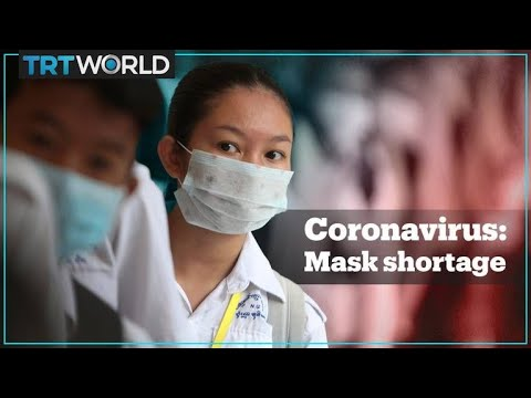 Face mask shortage in Asia as coronavirus spreads - TRT World