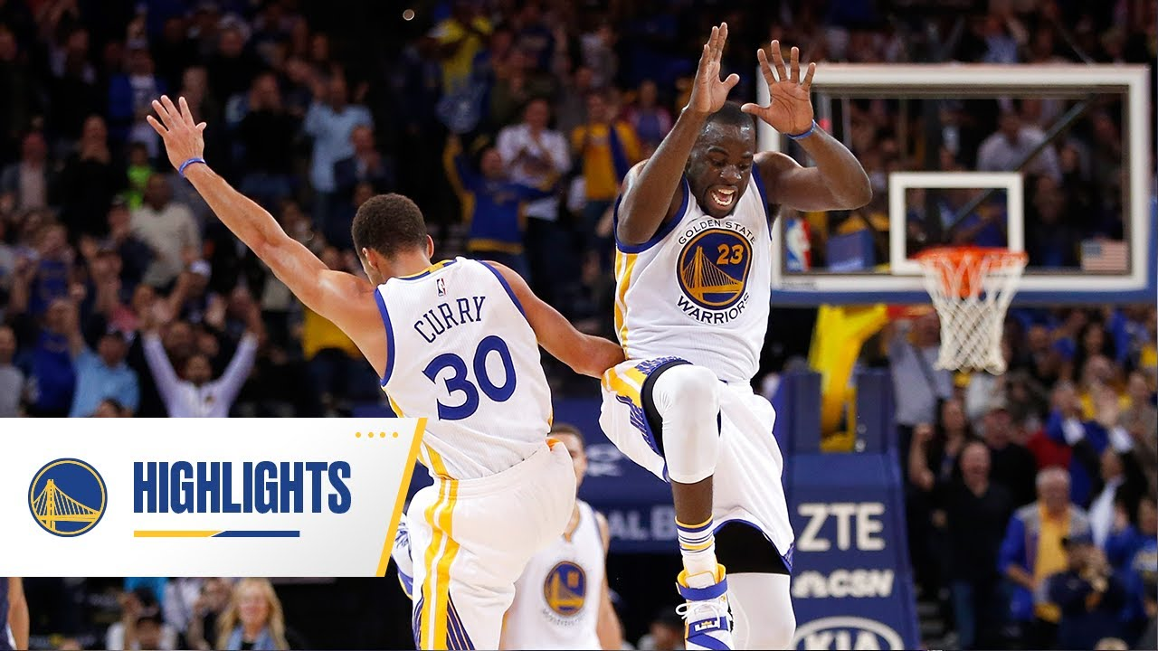 24-0: Best Play of Every Game of Warriors' 2015-16 Season-Opening Win Streak - Golden State Warriors