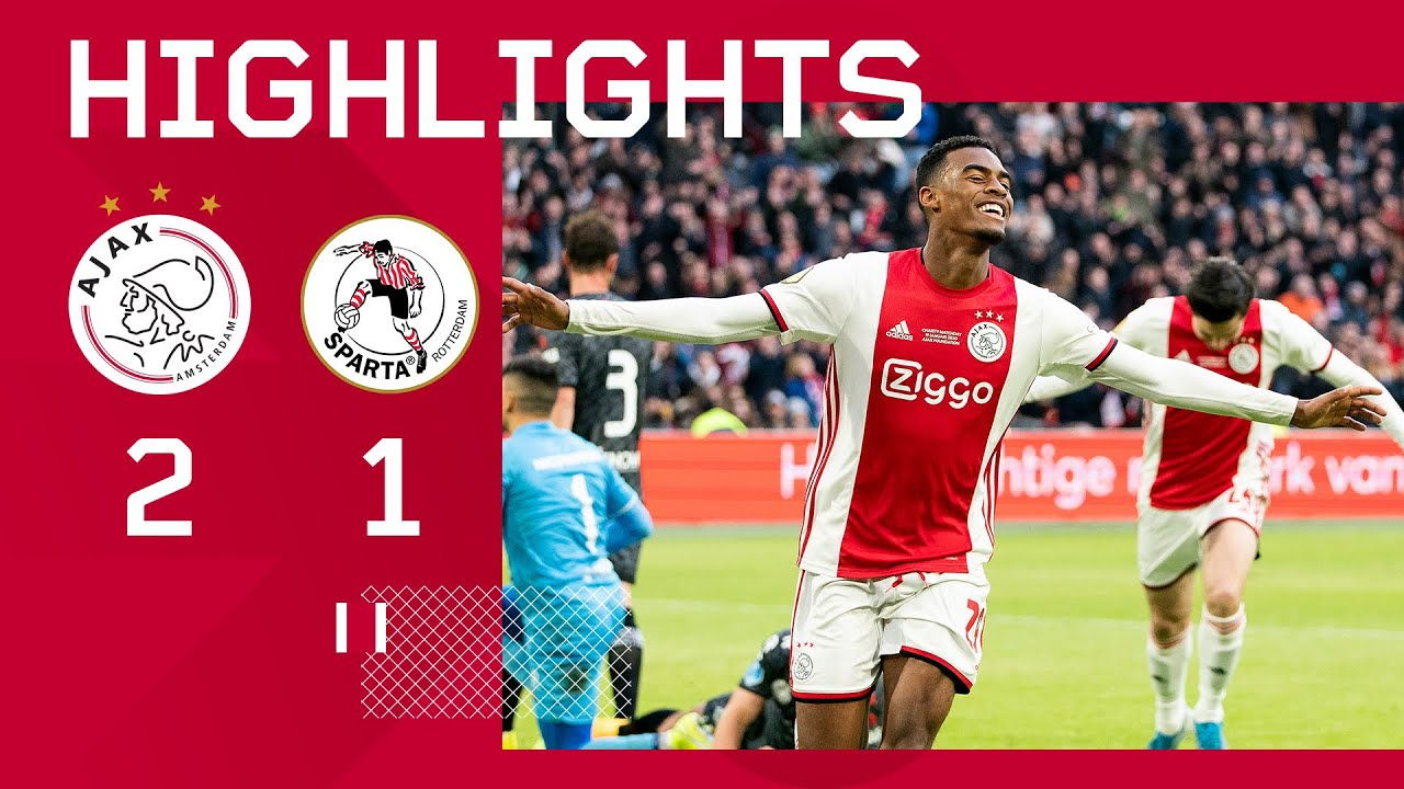 Highlights Ajax - Sparta - AFC Ajax