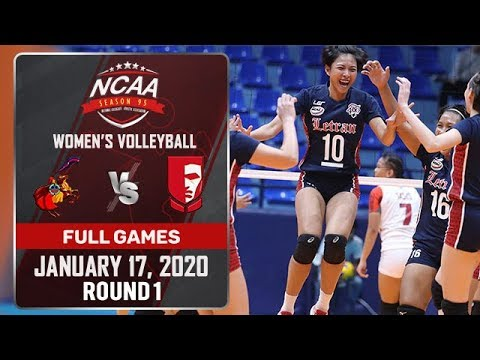 CSJL vs. EAC - January 17, 2020 | Full Game | 4th Set | NCAA 95 WV - ABS-CBN Sports