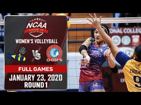 JRU vs. AU - January 23, 2020 | Full Game | 3rd Set | NCAA 95 WV - ABS-CBN Sports