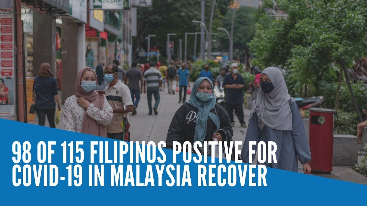 98 of 115 Filipinos positive for COVID-19 in Malaysia recover - INQUIRER.net