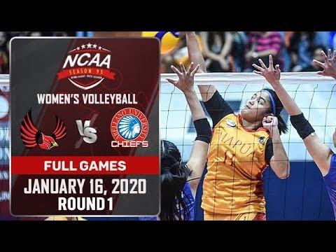 MU vs. AU - January 16, 2020 | Full Game | 3rd Set | NCAA 95 WV - ABS-CBN Sports