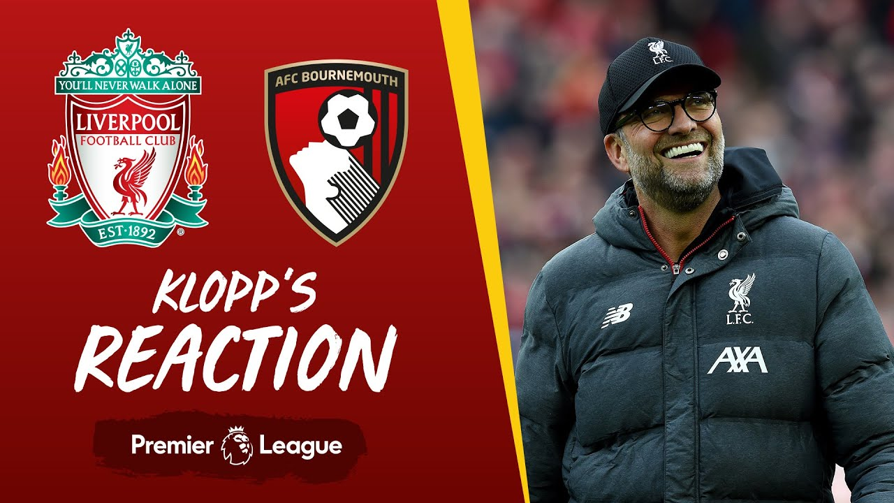 Klopp's Reaction: Milly saved our lives! | Liverpool v Bournemouth - Liverpool FC