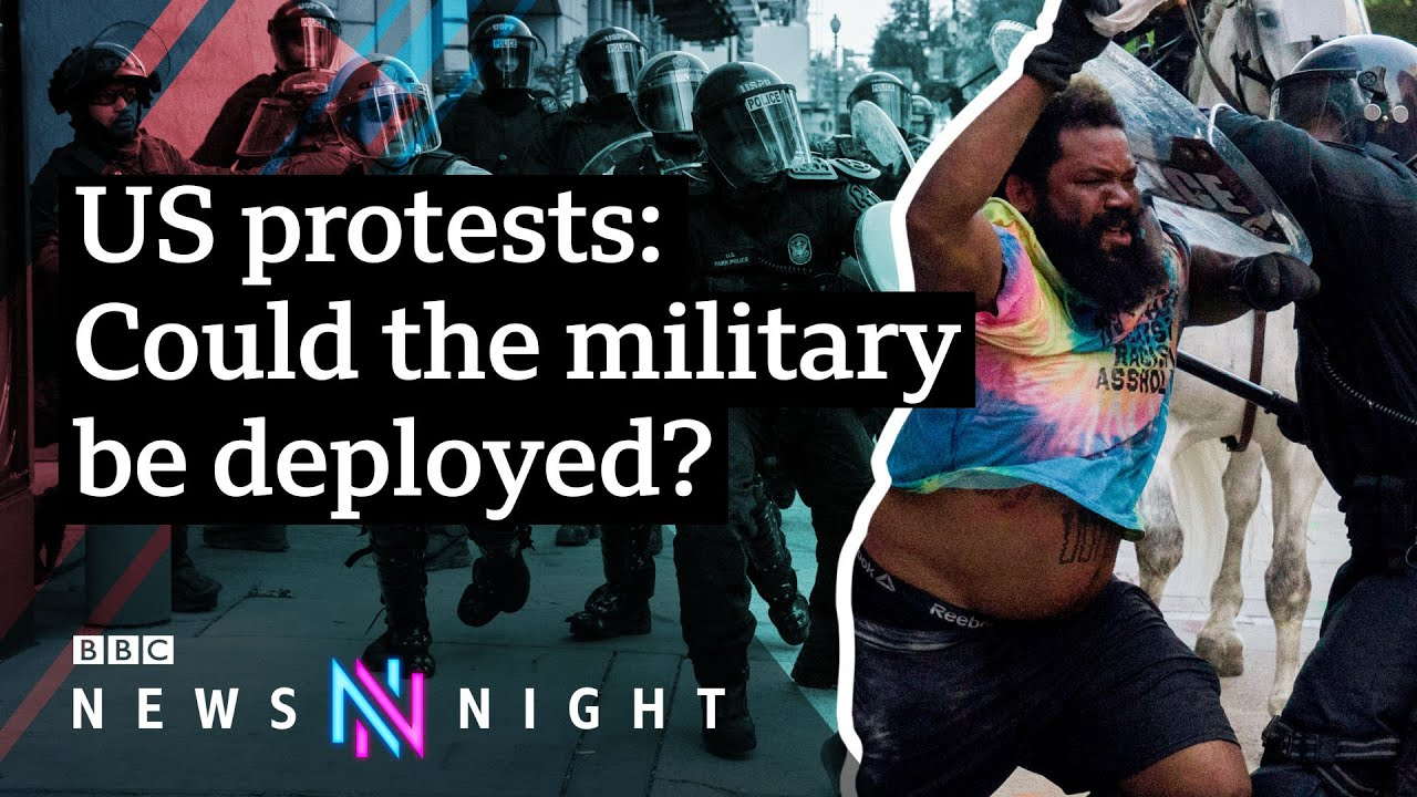 What's next? US protests continue after the death of George Floyd – BBC Newsnight - BBC Newsnight