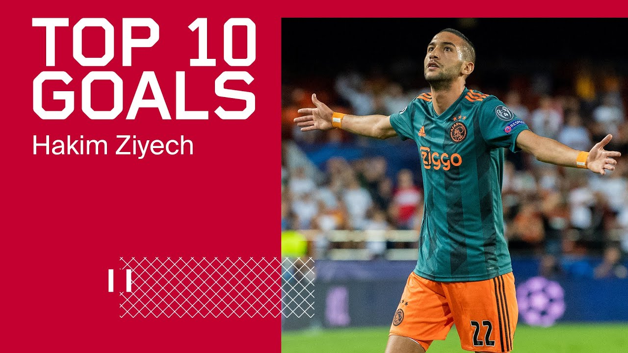 TOP 10 GOALS - Hakim Ziyech - AFC Ajax