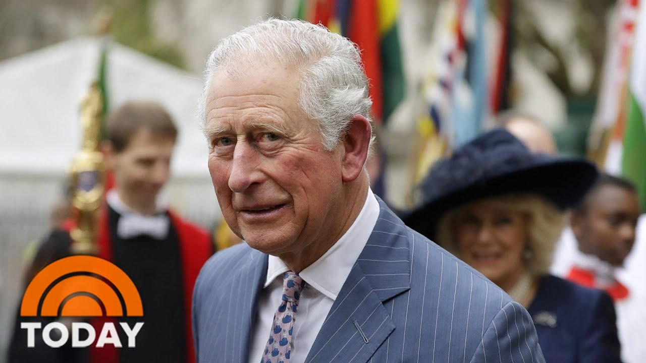 Prince Charles Tests Positive For Coronavirus | TODAY - TODAY