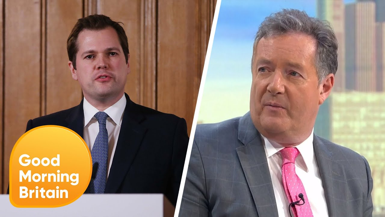 Piers Challenges Robert Jenrick on Coronavirus Testing 'Disgrace' | Good Morning Britain - Good Morning Britain