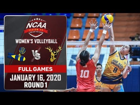 JRU vs. SSC-R - January 16, 2020 | Full Game | 5th Set | NCAA 95 WV - ABS-CBN Sports