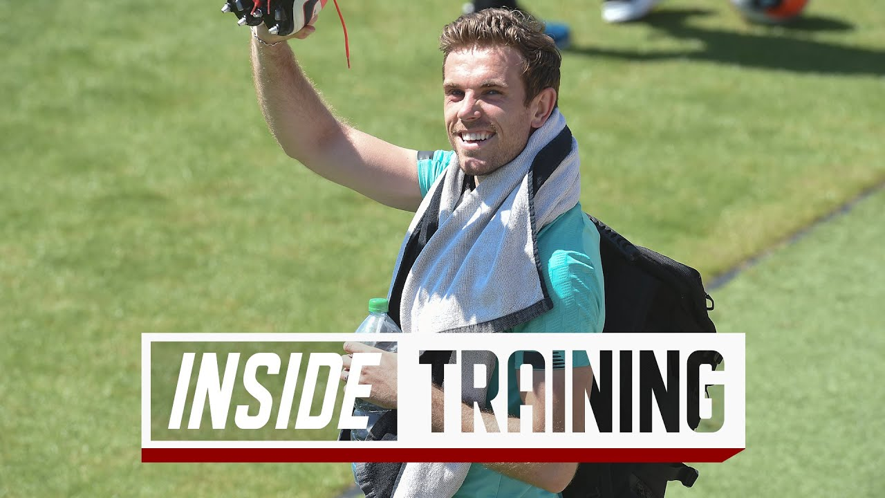 Inside Training: High spirits as the Reds return to training at Melwood - Liverpool FC