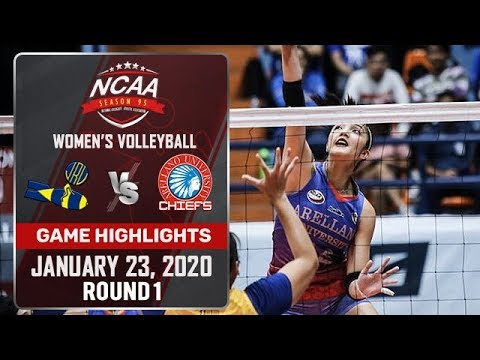 JRU vs. AU - January 23, 2020 | Game Highlights | NCAA 95 WV - ABS-CBN Sports