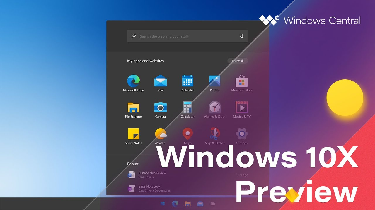 First Look: Windows 10X Preview - Windows Central