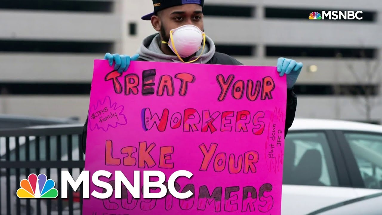 Amazon Worker Leads Protest Against Working Conditions, Is Fired | All In | MSNBC - MSNBC
