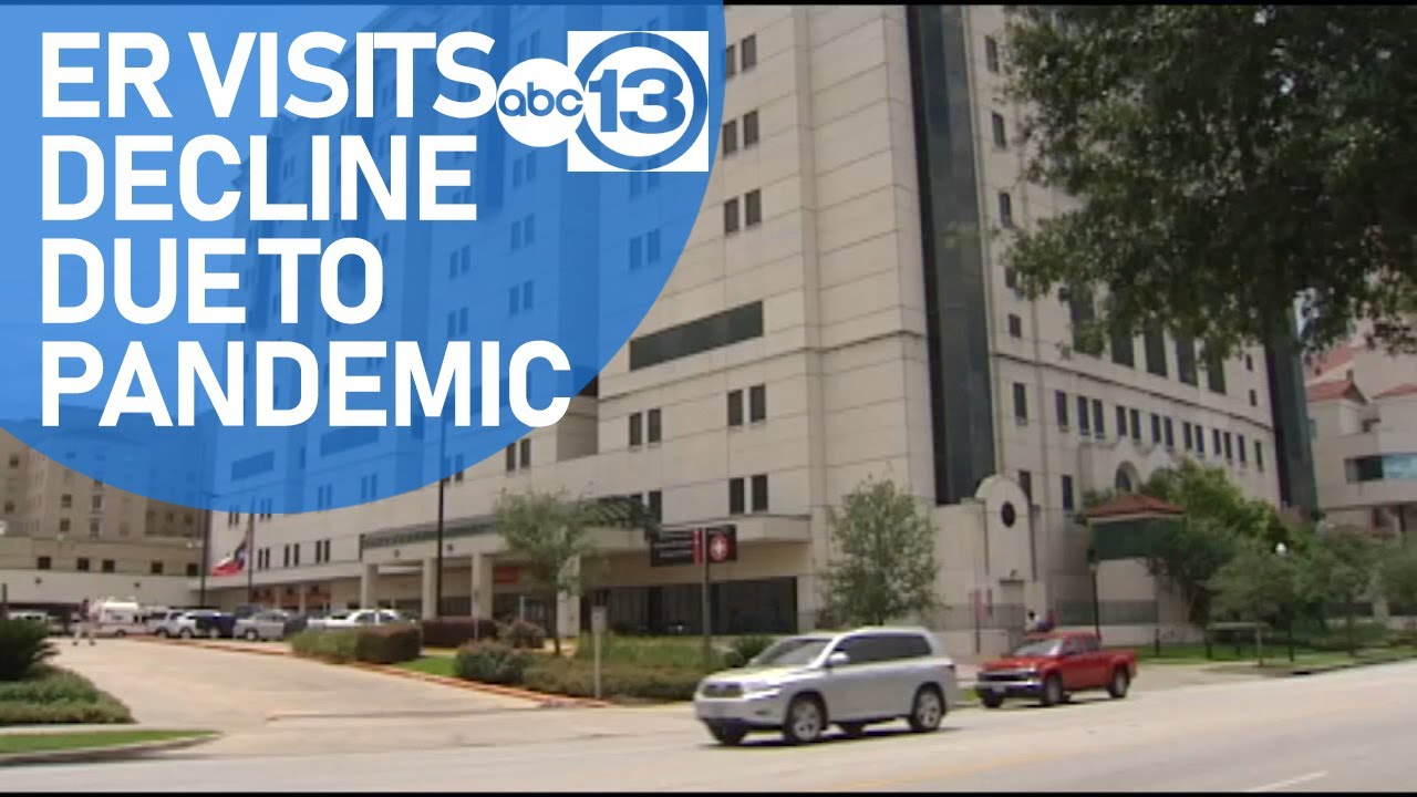 Hospitals say decline in ER visits could be linked to COVID-19 - ABC13 Houston