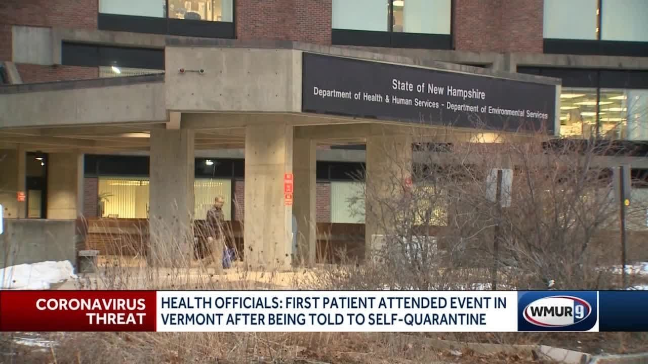 First NH COVID-19 patient attended event before diagnosis despite self-quarantine recommendation - WMUR-TV