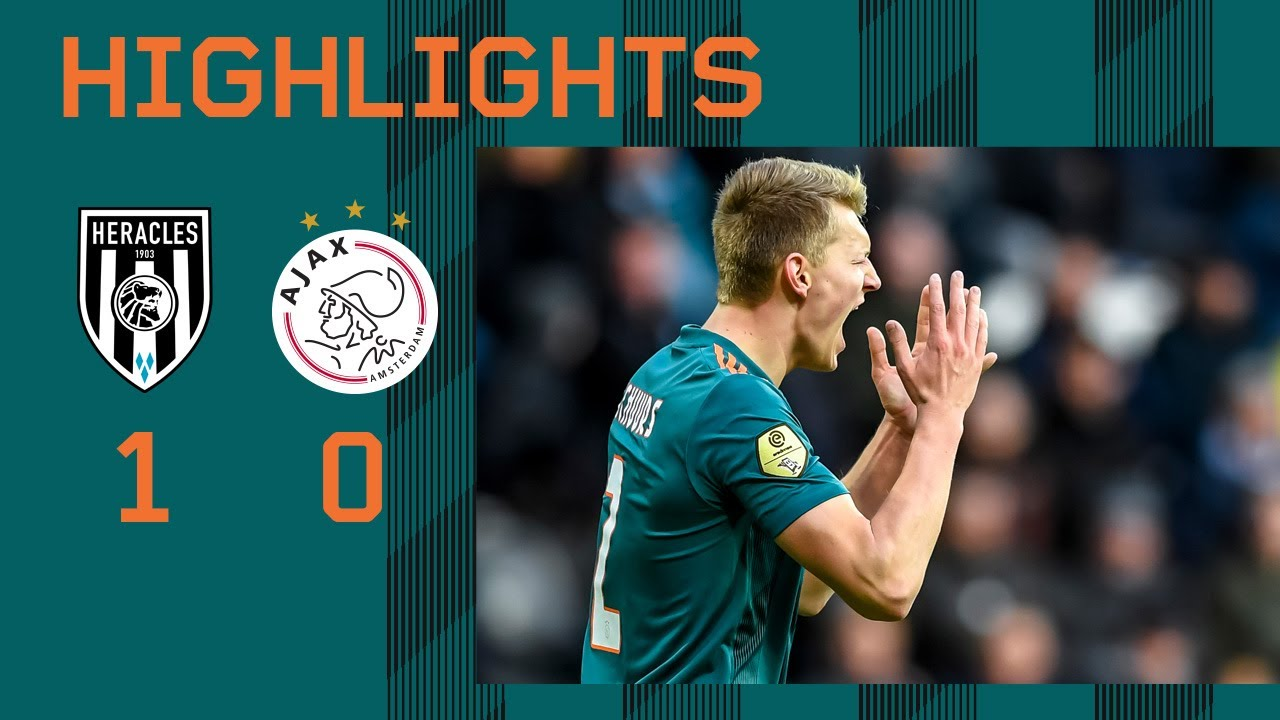 Highlights Heracles Almelo - Ajax | Eredivisie - AFC Ajax