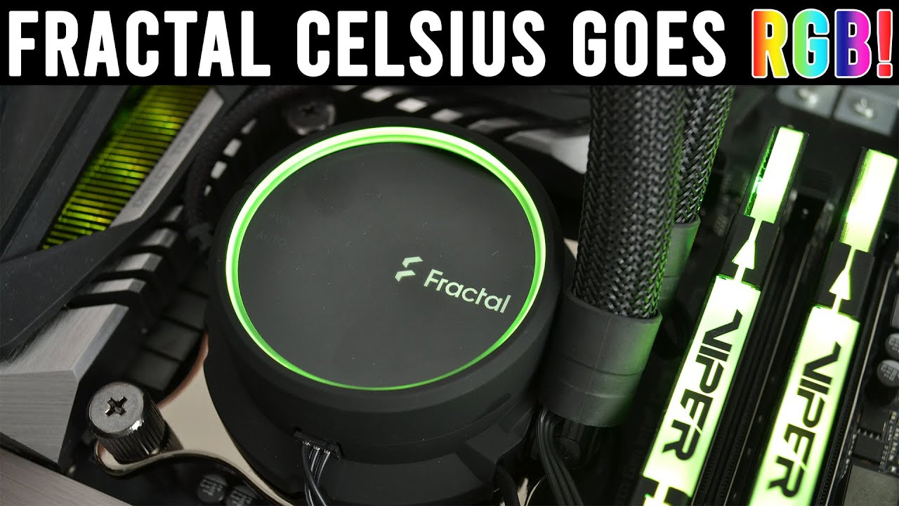 Fractal Design Celsius+ AIO Review - 240/280/360mm tested! - KitGuruTech