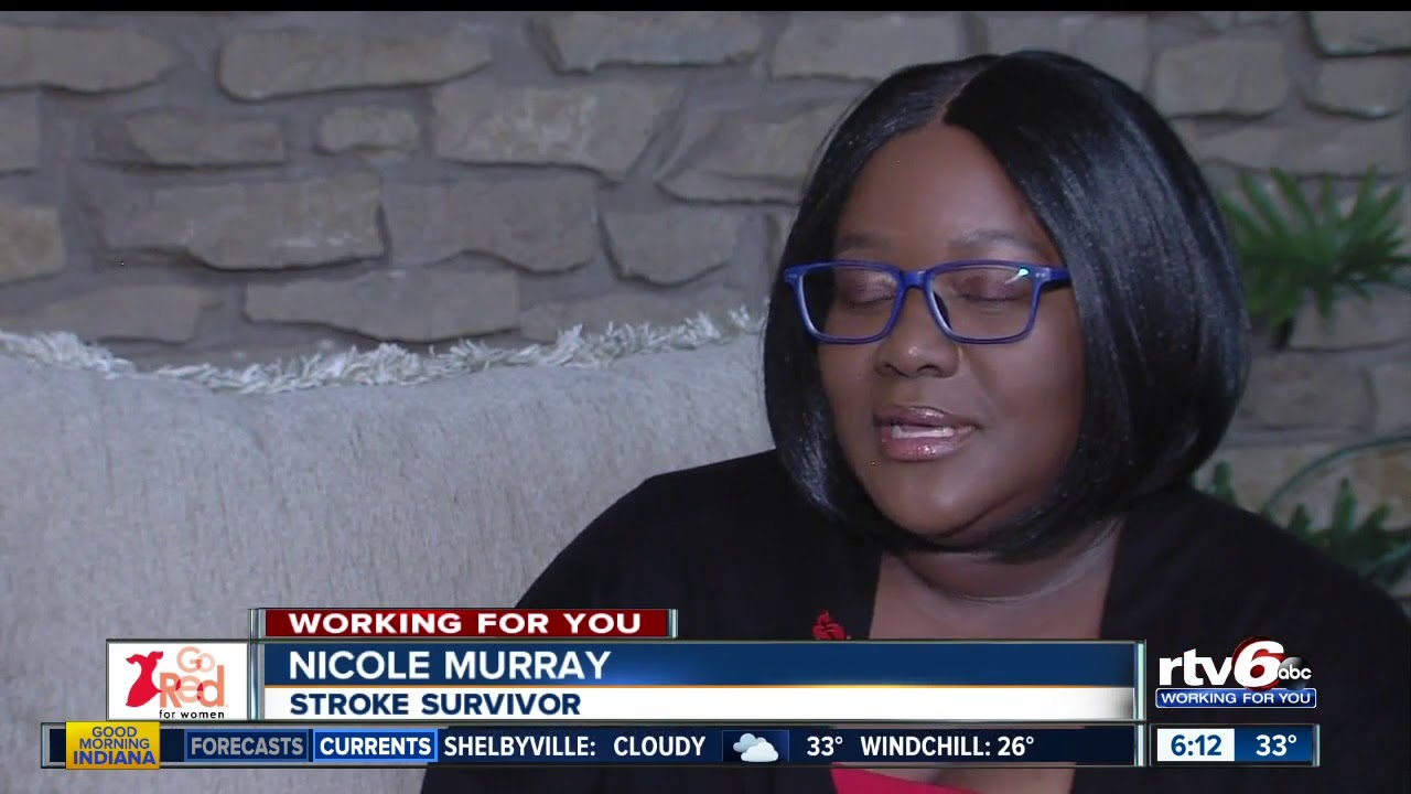 Go Red for Women | Woman survives two strokes - RTV6 The Indy Channel