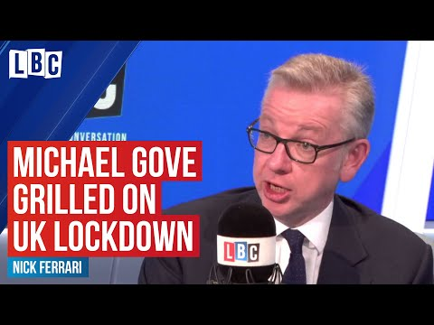 Michael Gove told LBC that the government have ordered Sports Direct to close | LBC - LBC