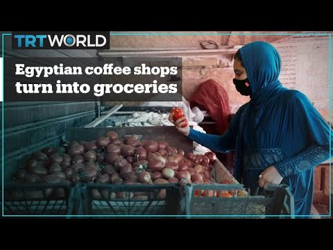 Cafes in Egypt switch to selling fruits and vegetables amid coronavirus lockdown measures - TRT World