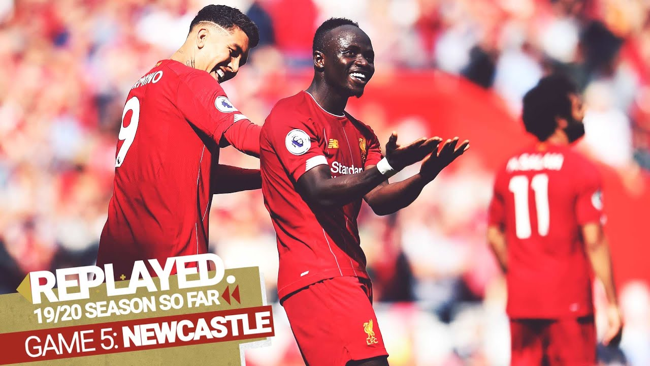REPLAYED: Liverpool 3-1 Newcastle Utd | Mane's double & Firmino's fantastic assist - Liverpool FC