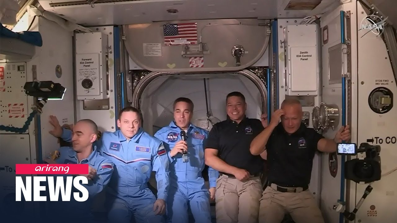 SpaceX's new Crew Dragon capsule successfully docks with ISS - ARIRANG NEWS