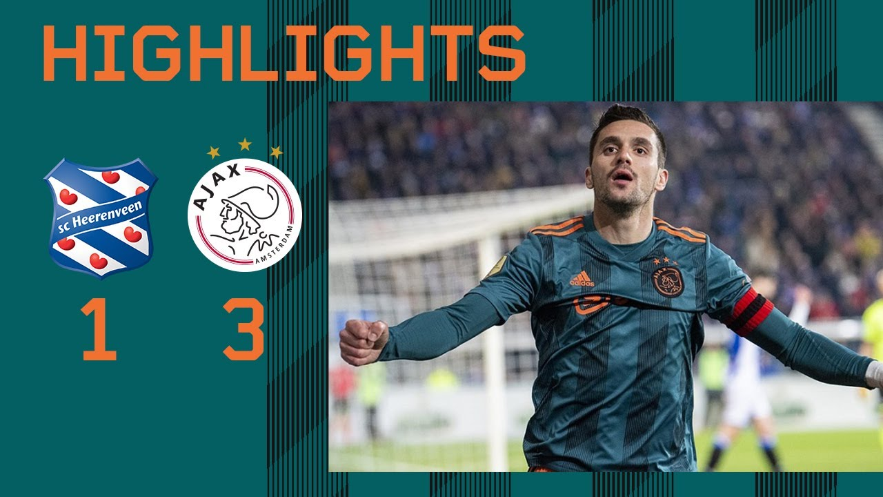 Highlights sc Heerenveen - Ajax - AFC Ajax