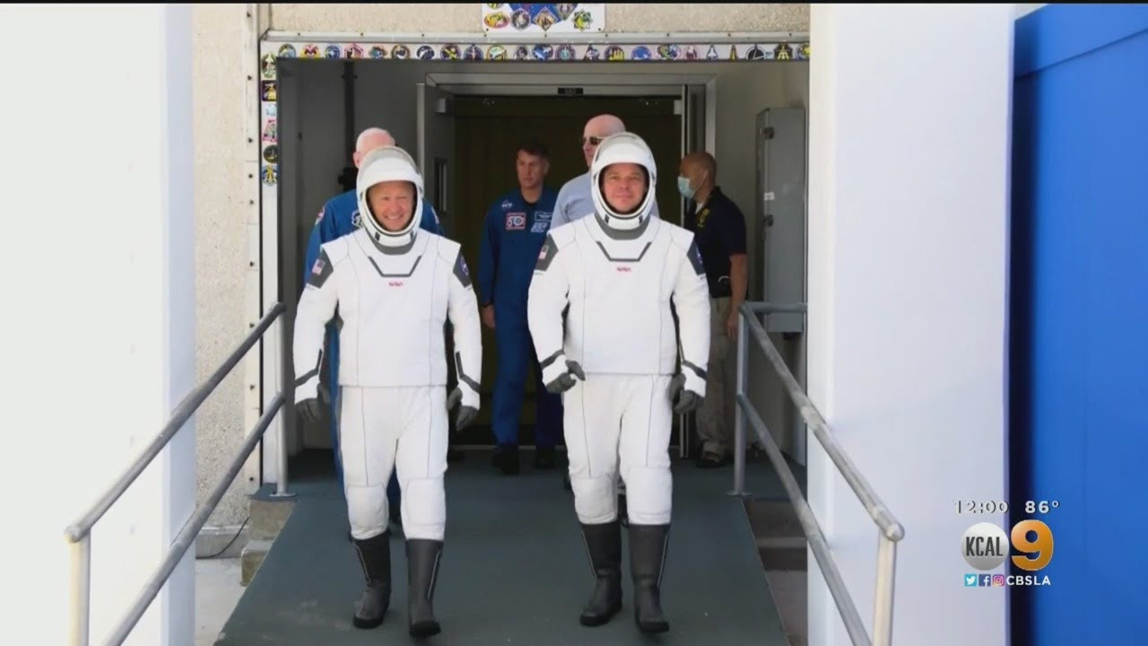 SpaceX Set To Become First Private Company To Launch Astronauts Into Space - CBS Los Angeles