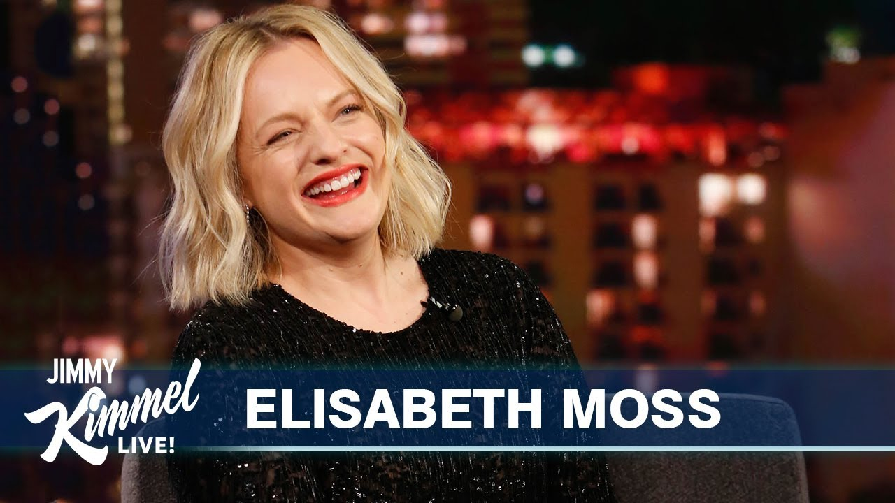 Elisabeth Moss on Bill Murray, Jennifer Aniston & The Invisible Man - Jimmy Kimmel Live