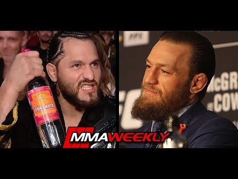 Conor McGregor compares Jorge Masvidal to old ladies, still wants his BMF belt (UFC 246) - MMAWeekly.com