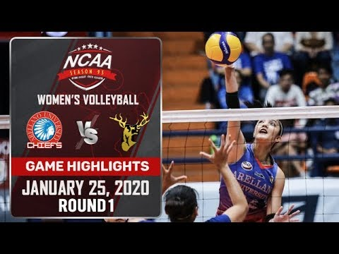 AU vs. SSC-R - January 25, 2020 | Game Highlights | NCAA 95 WV - ABS-CBN Sports