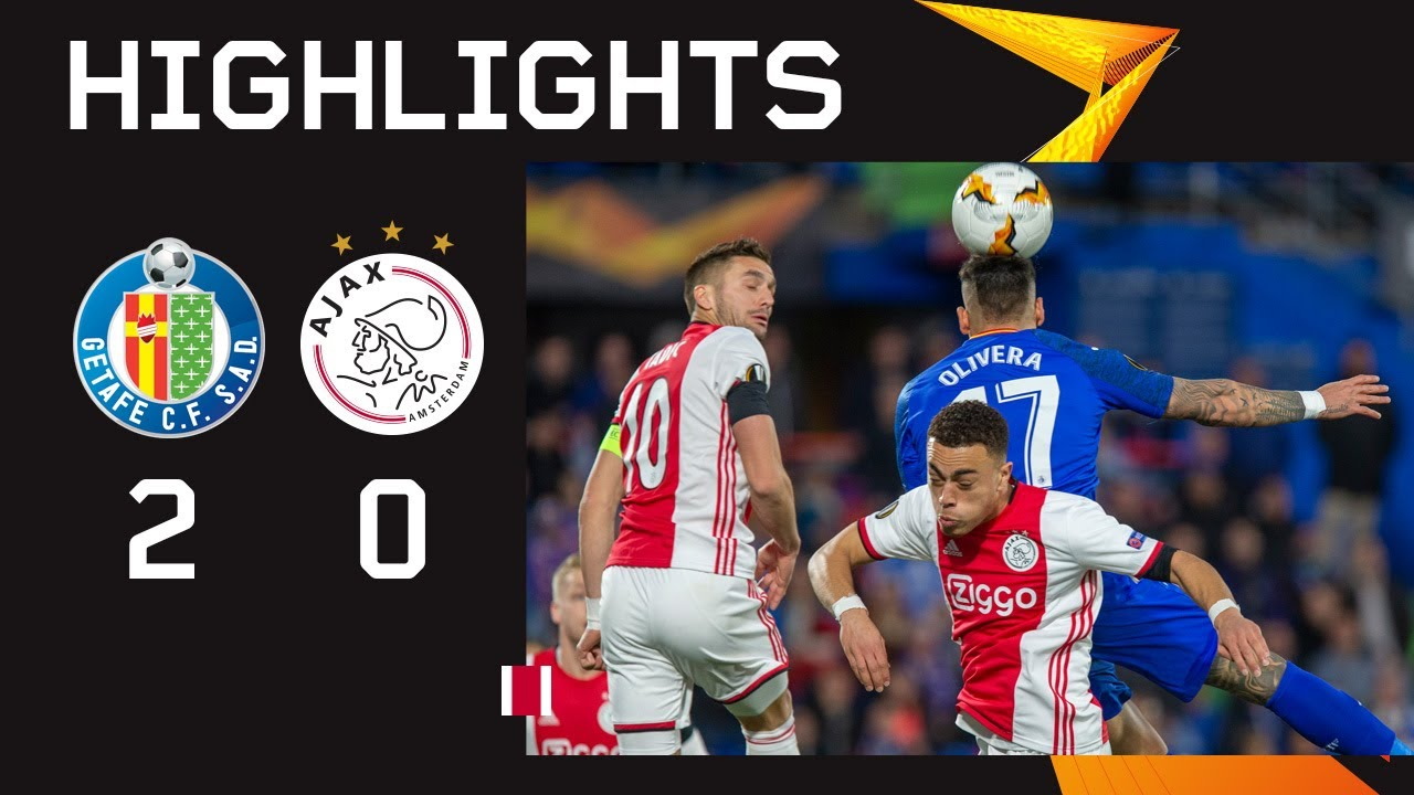 Highlights Getafe - Ajax | UEFA Europa League - AFC Ajax