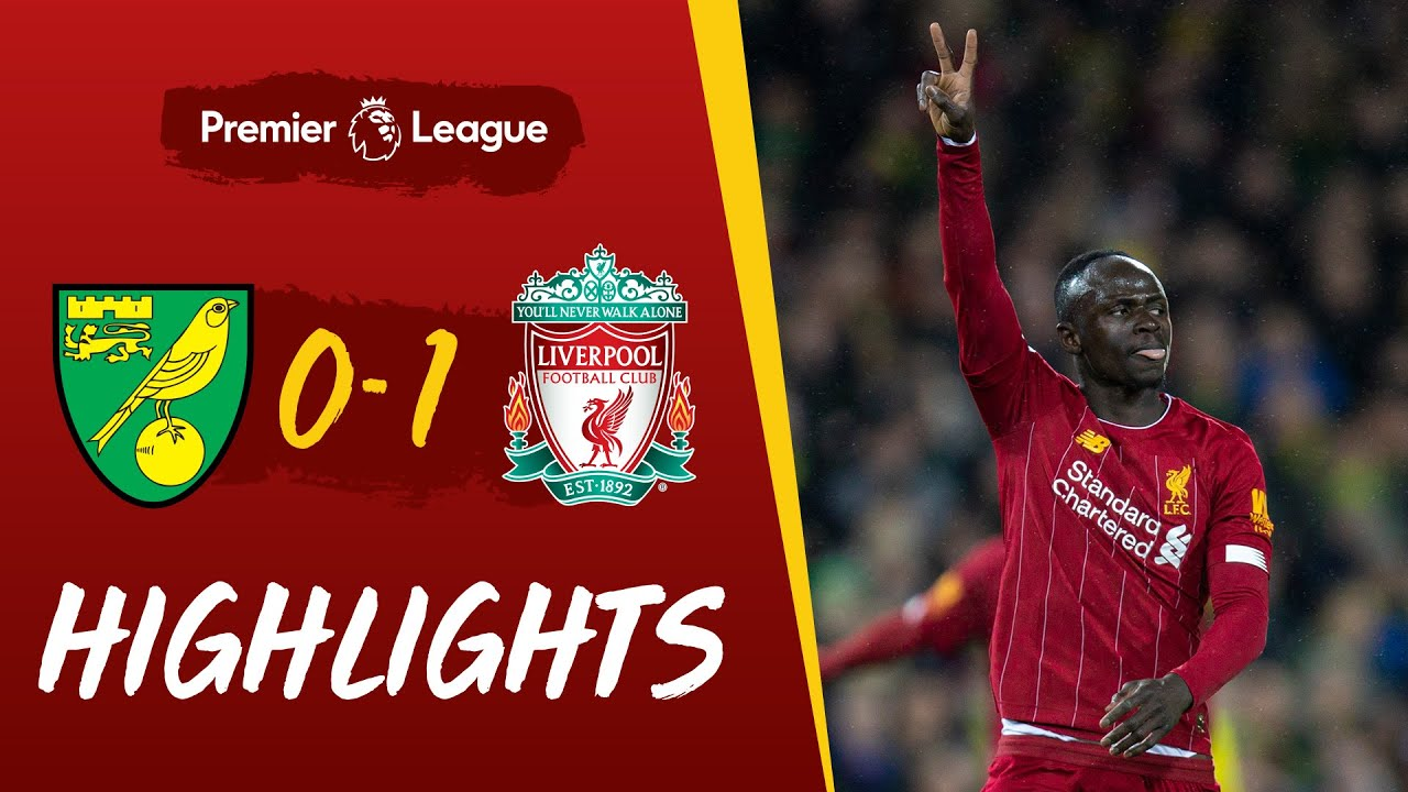 Super-sub Mane wins it for Reds | Norwich 0-1 Liverpool | Highlights - Liverpool FC