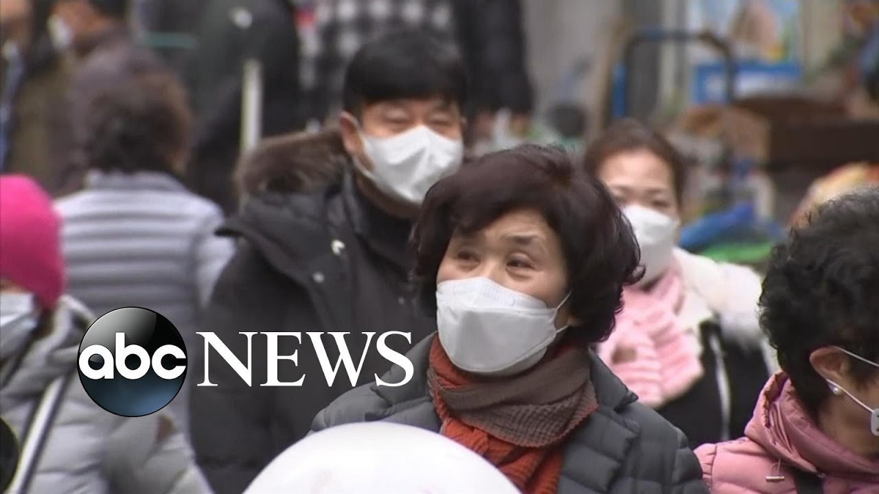Concerns grow over virus spreading as new hot zone identified in South Korea - ABC News