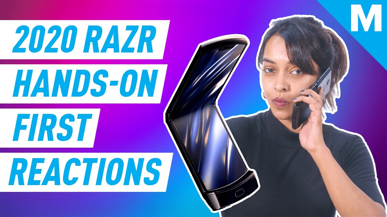 The NEW 2020 MOTO RAZR First Reactions | Mashable - Mashable