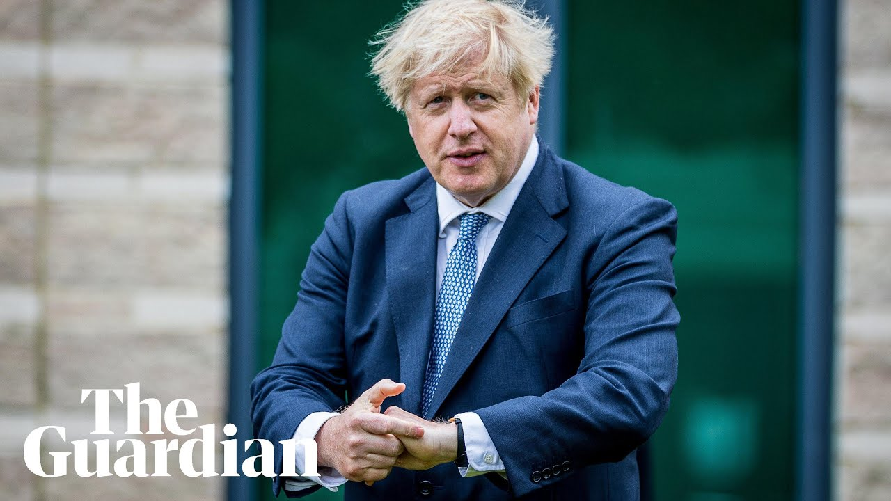 Boris Johnson: we cannot 'delude ourselves' that pandemic is over - Guardian News