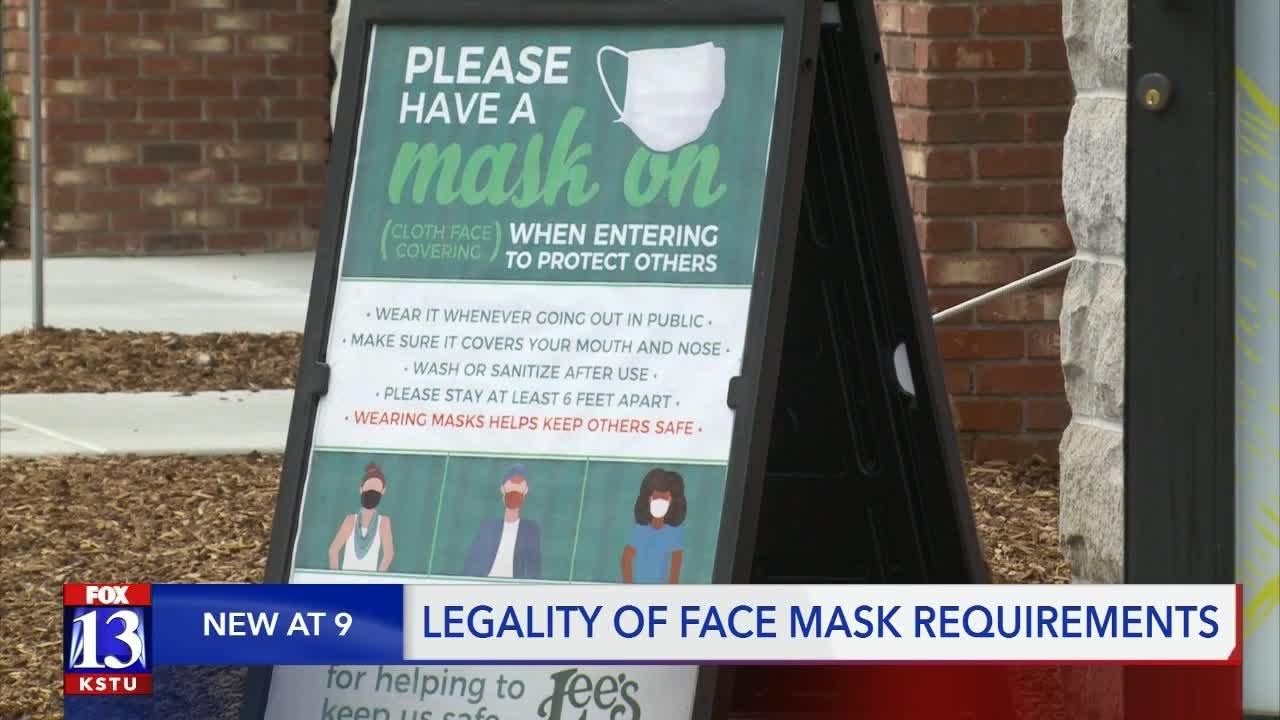 No mask, No service: Can businesses legally require customers to wear masks? - FOX 13 News Utah
