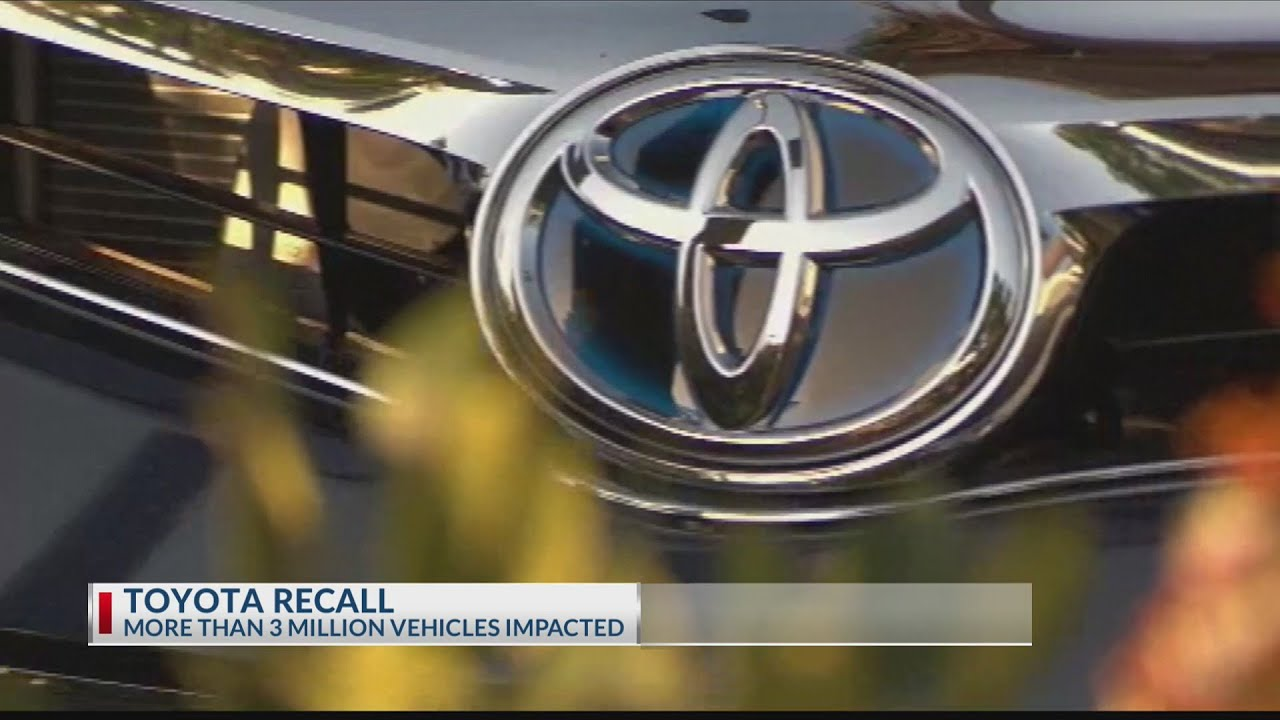Toyota recalls 2.9M vehicles for faulty airbags - KETKnbc