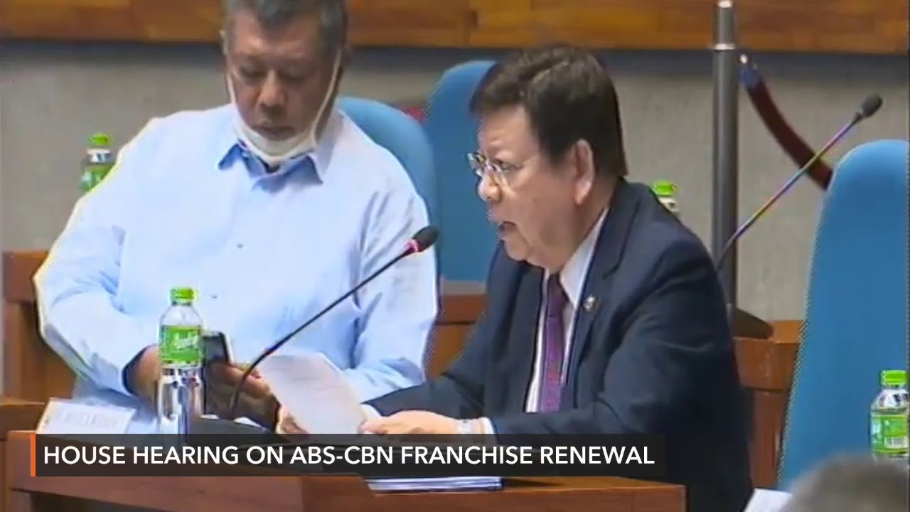 House hearing on ABS-CBN franchise renewal | Thursday, July 2 - Rappler
