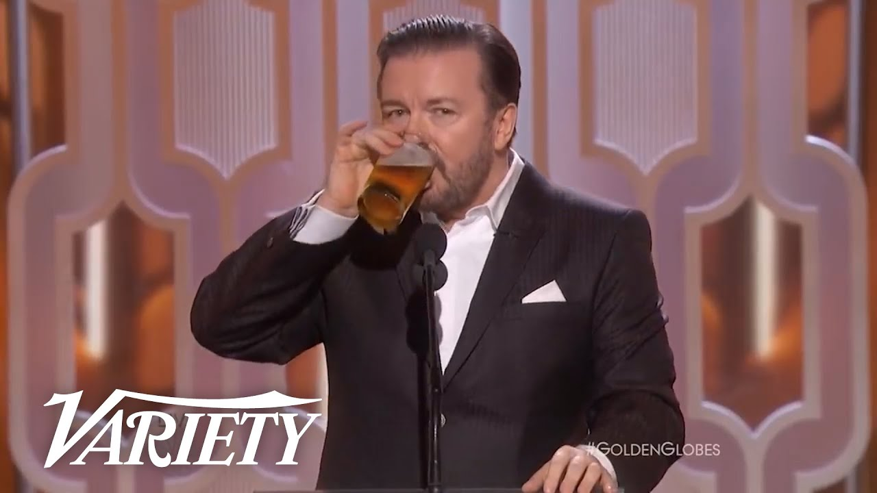 The Best of Ricky Gervais at the Golden Globes - Variety