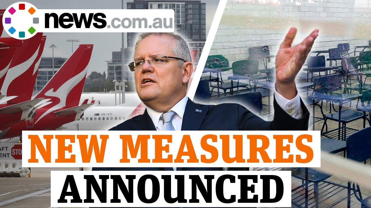 Coronavirus: Scott Morrison's new measures to curb the spread of COVID-19 - news.com.au