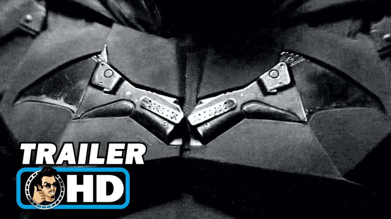 THE BATMAN First Look Trailer | Brighter & Black and White Version (2020) - JoBlo Movie Trailers