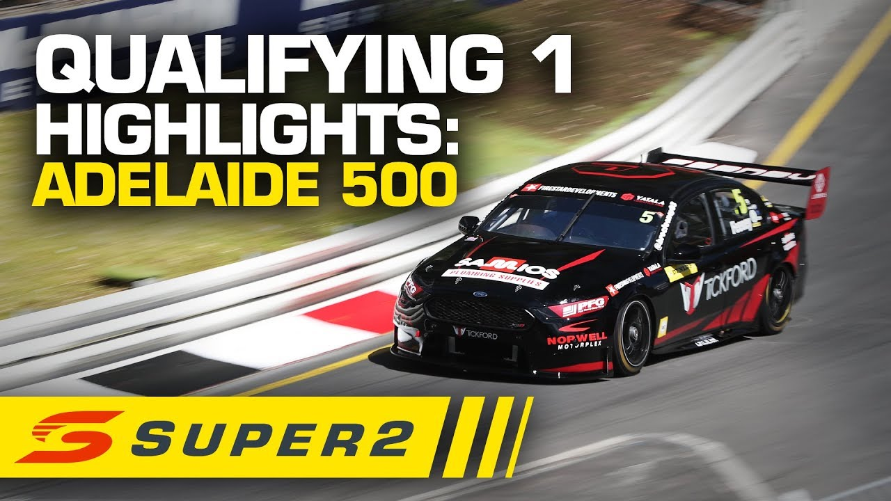 Highlights: Qualifying 1 Adelaide 500 | Super2 2020 - Supercars