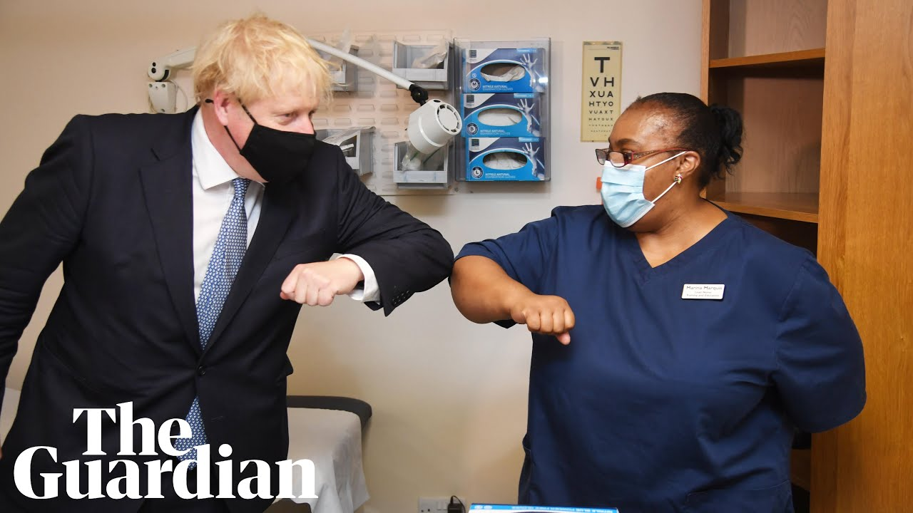 'Anti-vaxxers are nuts': Boris Johnson pushes winter flu jabs to protect NHS - Guardian News